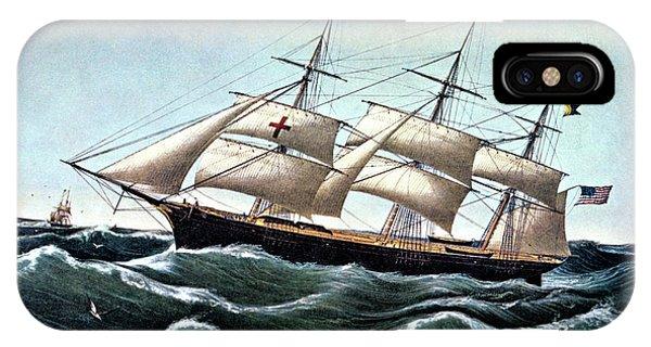 1850s Clipper Ship Dreadnought IPhone Case