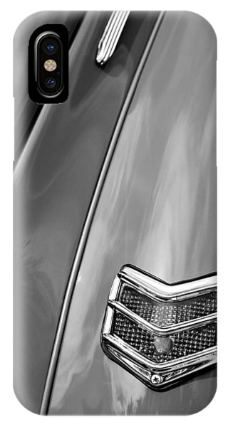 Coupe iPhone Case - 1940 Ford Deluxe Coupe Taillight by Jill Reger
