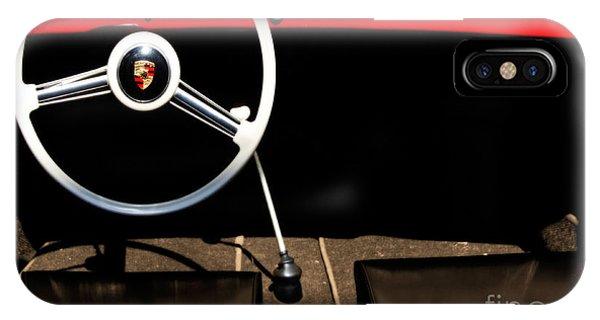 1954 Porsche Speedster  Phone Case by Steven Digman
