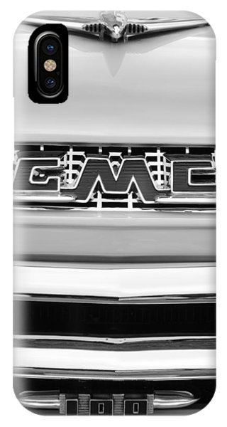 100 iPhone Case - 1956 Gmc 100 Deluxe Edition Pickup Truck by Jill Reger