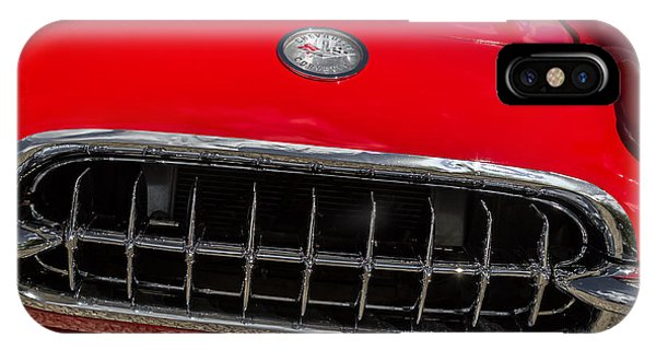 1958 Chevrolet Corvette Grille IPhone Case