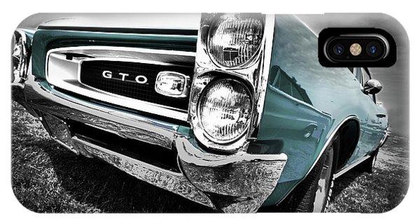 1966 Pontiac Gto IPhone Case