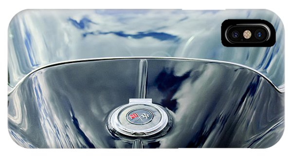 1967 Chevrolet Corvette Rear Emblem IPhone Case