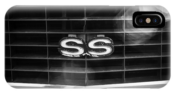 1969 Chevrolet Camaro Rs-ss Indy Pace Car Replica Grille Emblem IPhone Case