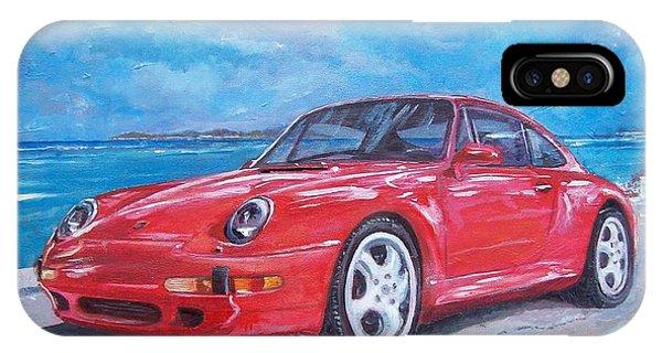 1997 Porsche Carrera S IPhone Case
