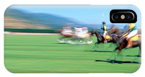 Culture Club iPhone Case - 1998 World Polo Championship, Santa by Panoramic Images