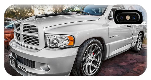 2004 Dodge Ram Srt 10 Viper Truck Painted IPhone Case