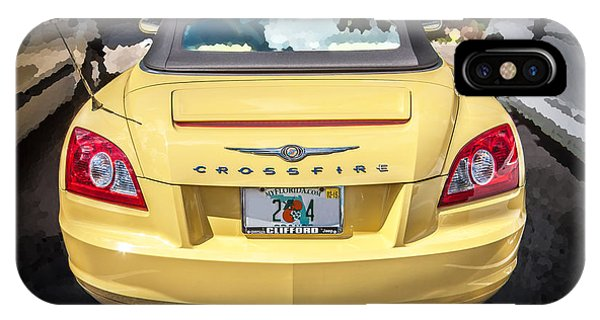 2008 Chrysler Crossfire Convertible  IPhone Case