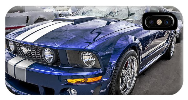 2008 Ford Shelby Mustang With The Roush Stage 2 Package IPhone Case