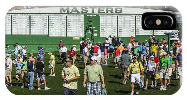 2013 Masters Main Scoreboard IPhone Case