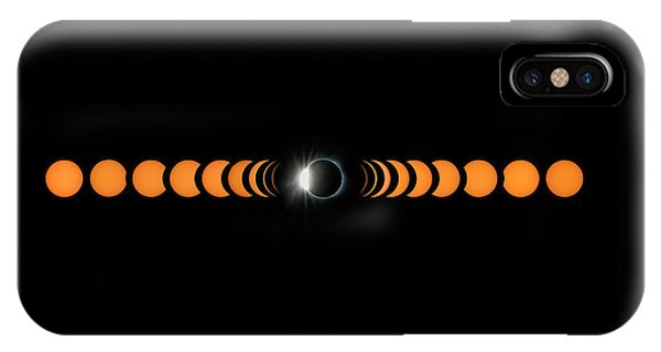 Astronomy iPhone Case - 2017 Total Solar Eclipse by Hua Zhu