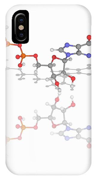5'-guanylyl Imidodiphosphate Molecule Phone Case by Laguna Design/science Photo Library