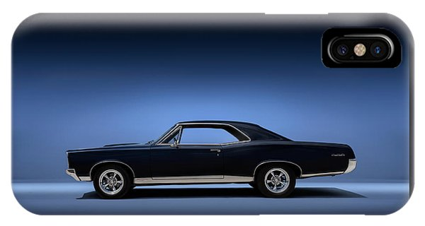 Vintage iPhone Case - 67 Gto by Douglas Pittman