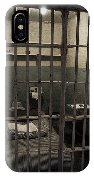 A Cell In Alcatraz Prison IPhone Case