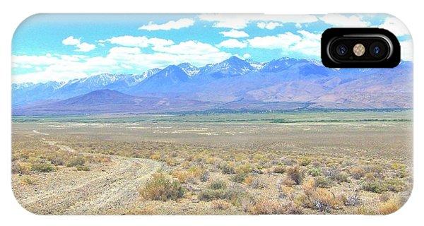 A Desert Drive Phone Case by Marilyn Diaz