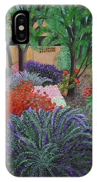 A Garden To Remember IPhone Case