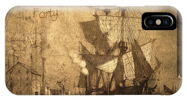 Port Orange iPhone Case - A Pirate Looks At Forty by John Stephens