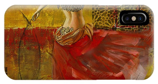 Abstract Belly Dancer 8  IPhone Case