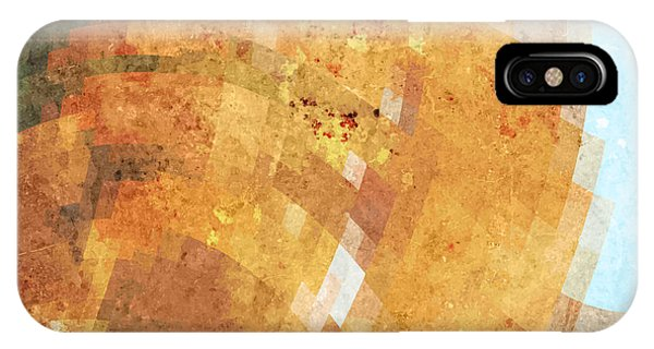 Funky iPhone Case - Abstract Futuristic Art Background by Leksustuss