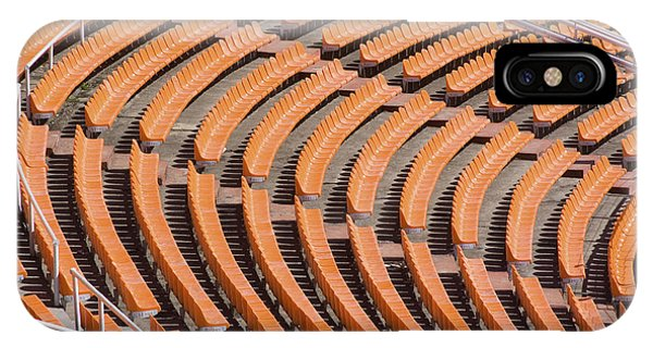 Abstract Pattern - Rows Of The Stadium's Seats IPhone Case