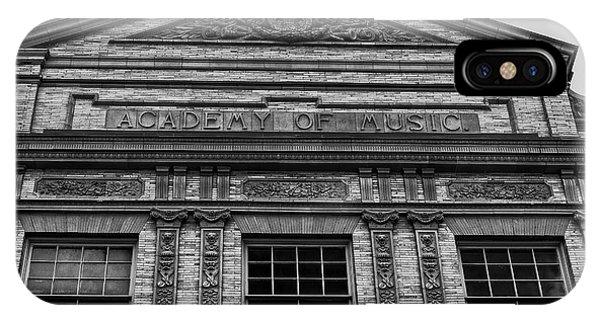 Academy Of Music Nothampton Massachusetts IPhone Case