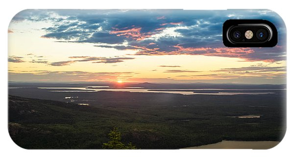 Acadia National Park Sunset  IPhone Case