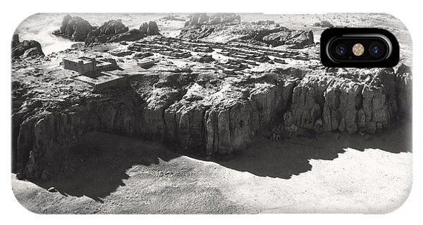 Indian Village iPhone Case - Acoma Pueblo by Underwood Archives