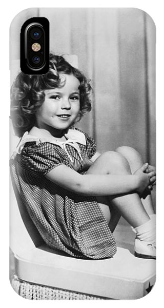 Actress Shirley Temple IPhone Case