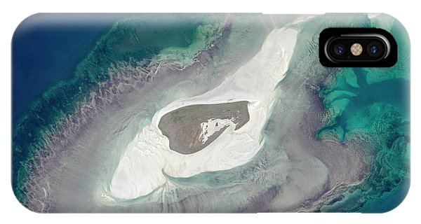Adele iPhone Case - Adele Island by Nasa