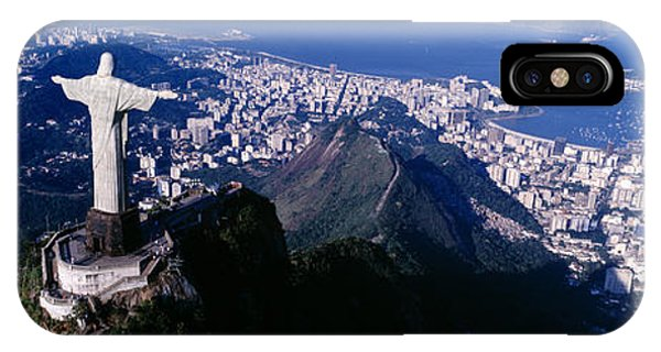 Aerial, Rio De Janeiro, Brazil IPhone Case