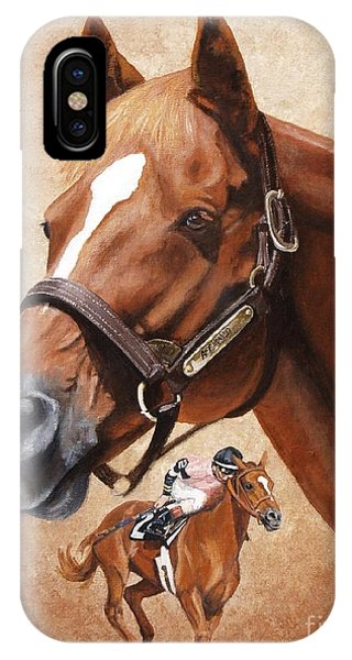 Affirmed Phone Case by Pat DeLong