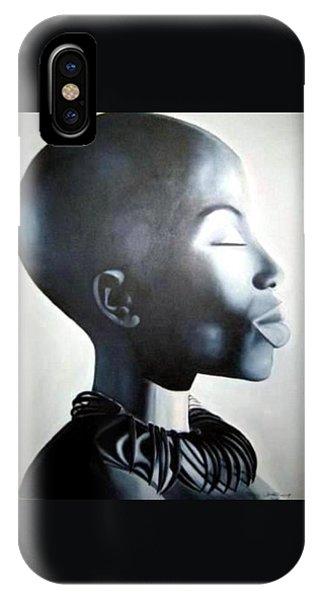 African Elegance - Original Artwork IPhone Case