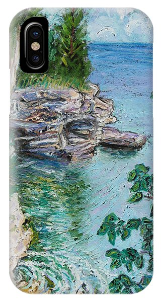 After The Rain Cave Point Phone Case by Madonna Siles