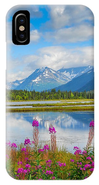 Alaskan Horizons IPhone Case