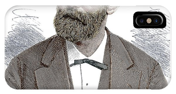 Nobel iPhone Case - Alfred Nobel by Science Photo Library
