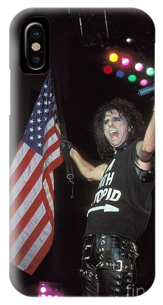 Alice Cooper iPhone Case - Alice Cooper by Concert Photos
