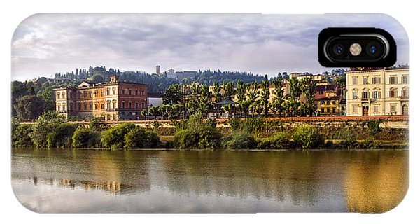 Along The Arno IPhone Case