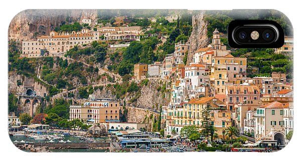 Amalfi City IPhone Case