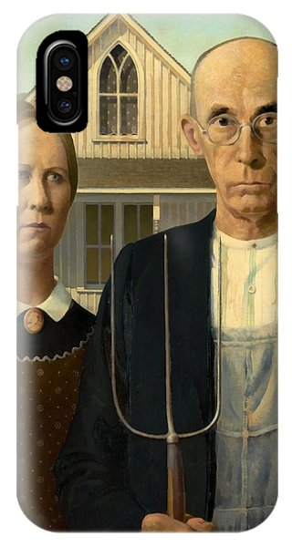 American Gothic IPhone Case