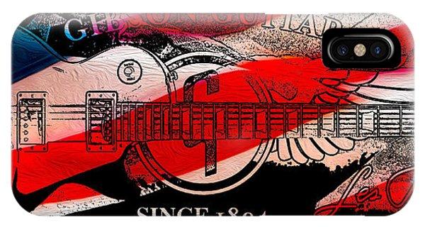 Guitar Legends iPhone Case - American Legend by Jon Neidert