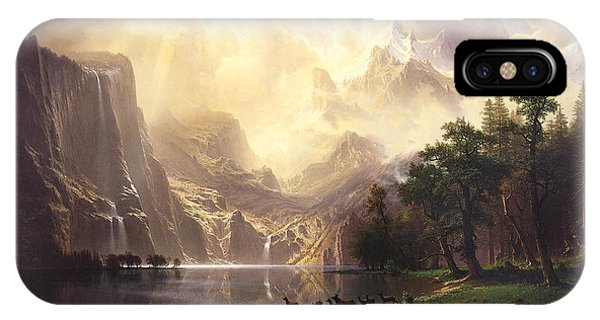 Among The Sierra Nevada Mountains California IPhone Case