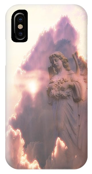 An Angel In The Clouds Phone Case by Jim Zuckerman