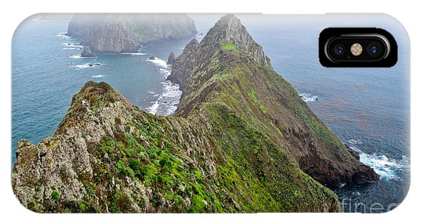IPhone Case featuring the photograph Anacapa Panorama by Jeff Loh