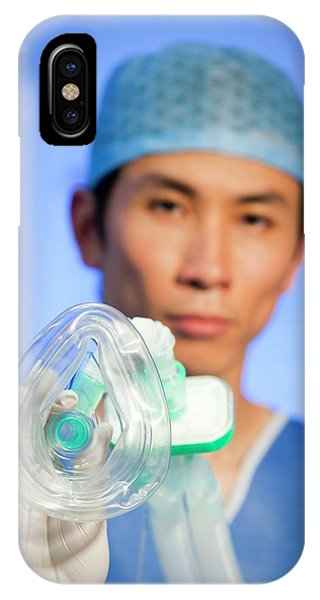 Staff iPhone Case - Anaesthetist by Science Photo Library