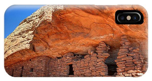 Anasazi Citadel Ruin - Cedar Mesa IPhone Case