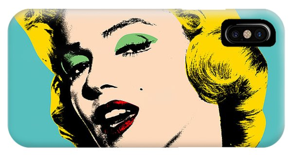 Portraits iPhone X Case - Andy Warhol by Mark Ashkenazi