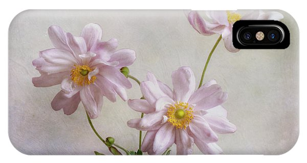 Anemones Phone Case by Mandy Disher