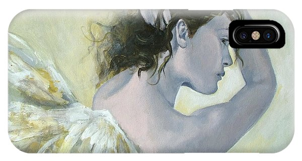 Angels iPhone Case - Angel    by Dorina  Costras