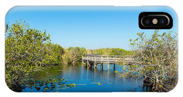 Anhinga iPhone Case - Anhinga Trail Boardwalk, Everglades by Panoramic Images