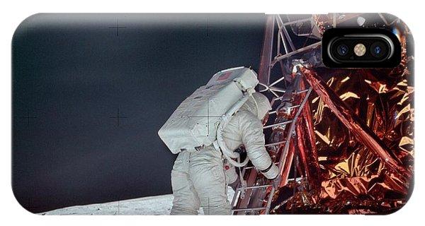 Apollo 11 Moon Landing IPhone Case